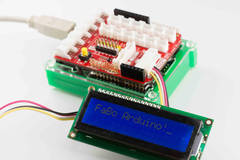 212 LCD I2C Brick - FaBo DonkeyCar Docs